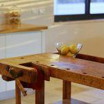 שולחן נגרים - אי במטבח