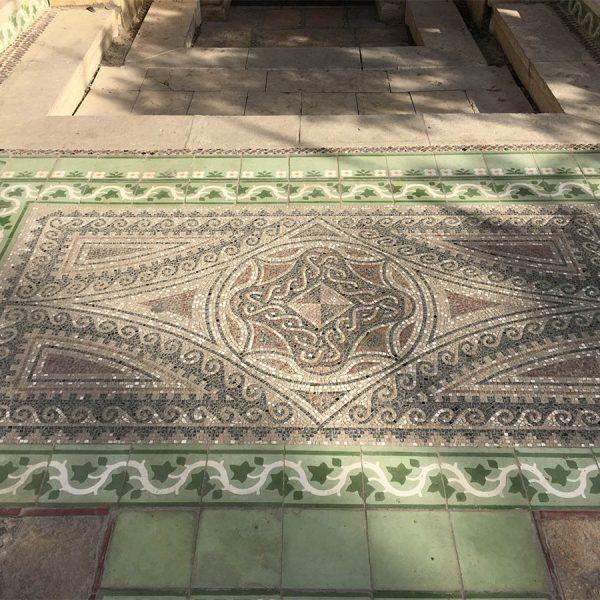פסיפס - שטיח לרצפה