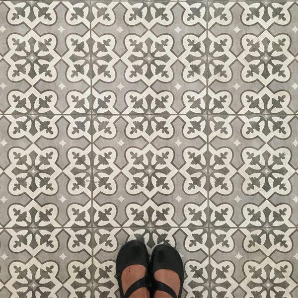 אריחי רצפה מצוירים - בית גולומב