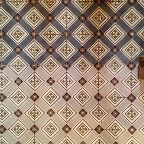 אריחי רצפה מצוירים