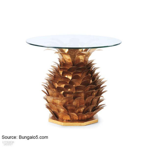 שולחן צד ממתכת