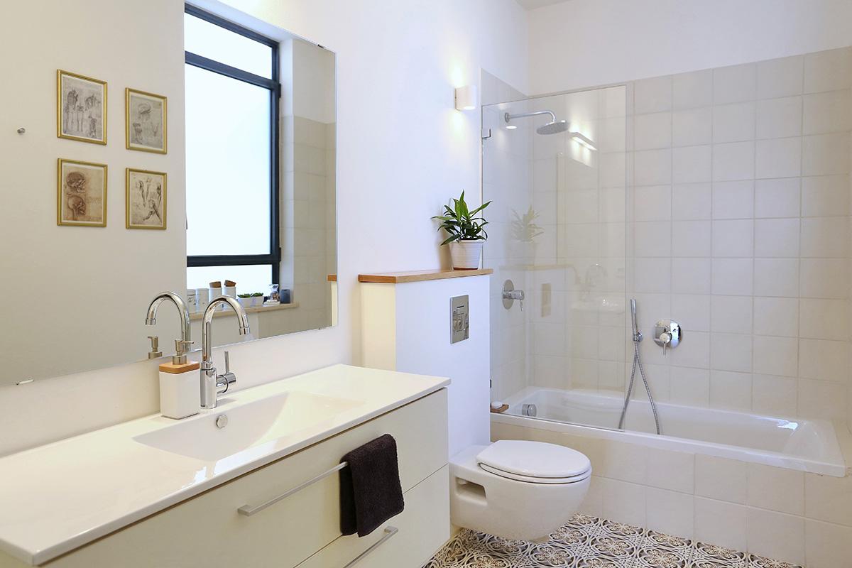 עיצוב חדרי אמבטיה – אתגר החדר הקטן
