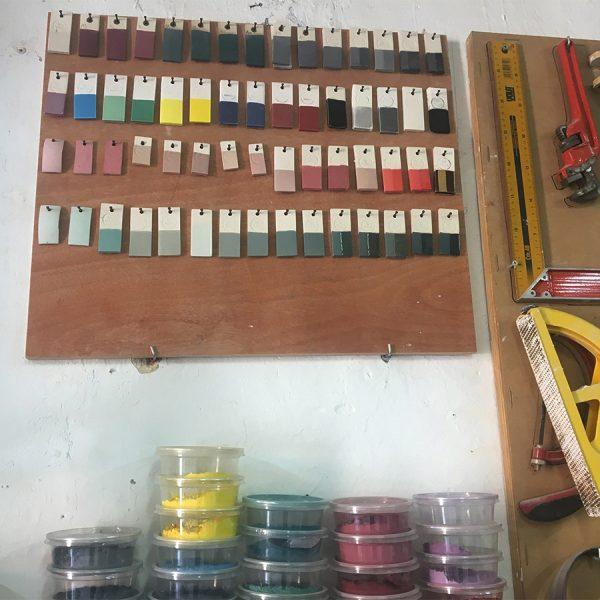צבעוניות ייחודית לקרמיקה