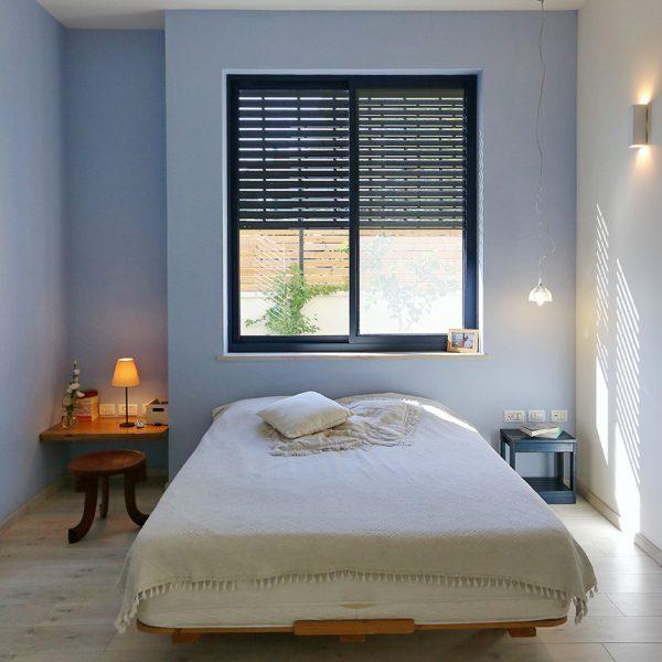 חיפוי פרקט למינציה בחדר שינה