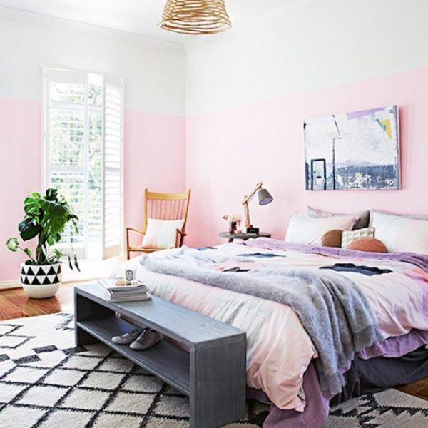 ללא גב מיטה בצבעים רכים
