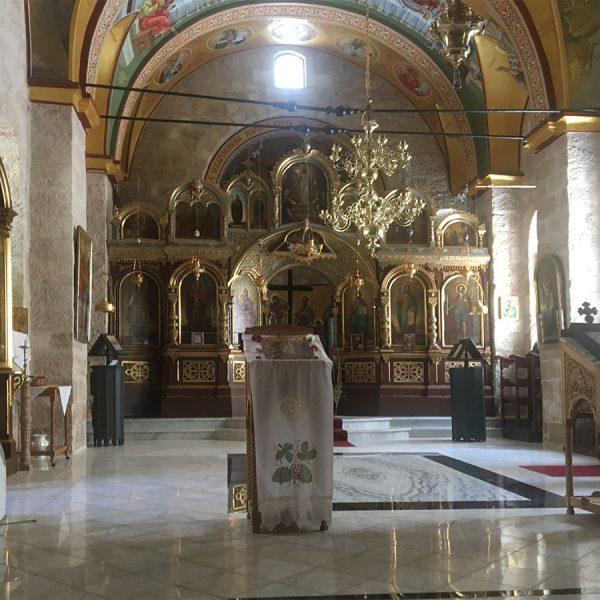 הכנסיה בעמדת הצלב