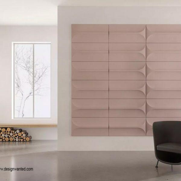 עיצוב קירות הבית - אריחים אקוסטיים