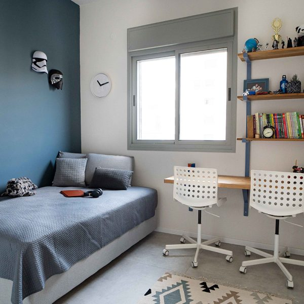 חדר ילדים כחול