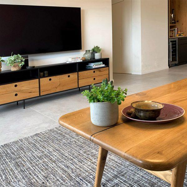 שטיח משלים לעיצוב סלון מודרני