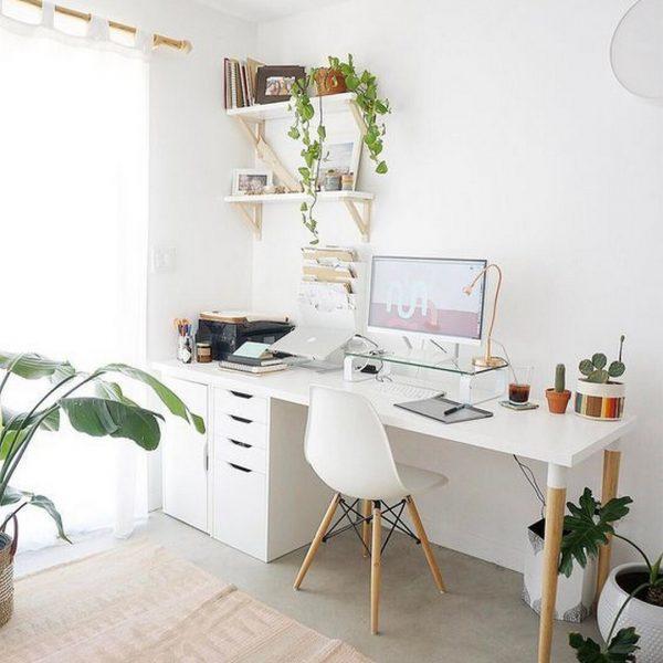 עובדים מהבית עיצוב חדר עבודה