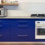 מטבח כחול
